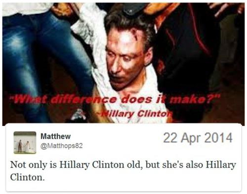 2014_04 22 Plus she's Hillary Clinton