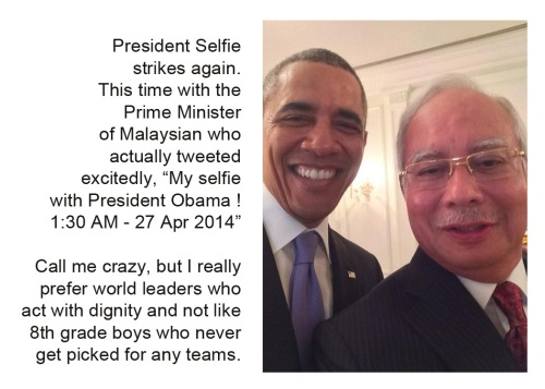 2014_04 President Selfie strikes again