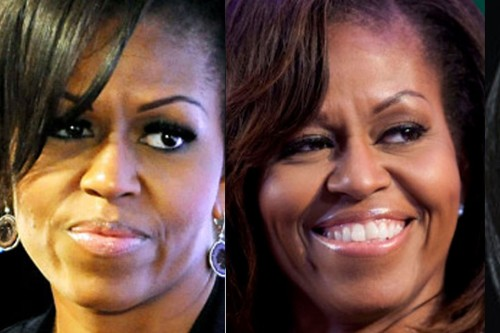 Angry eyes FLOTUS montage a
