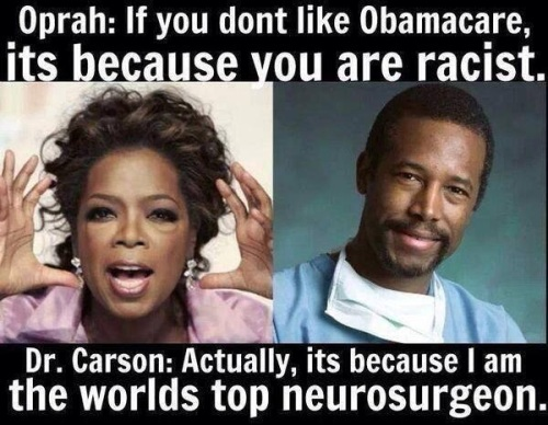Carson bops Oprah
