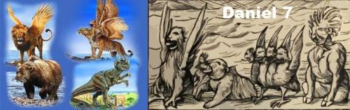 Daniel 7 - 4 beasts