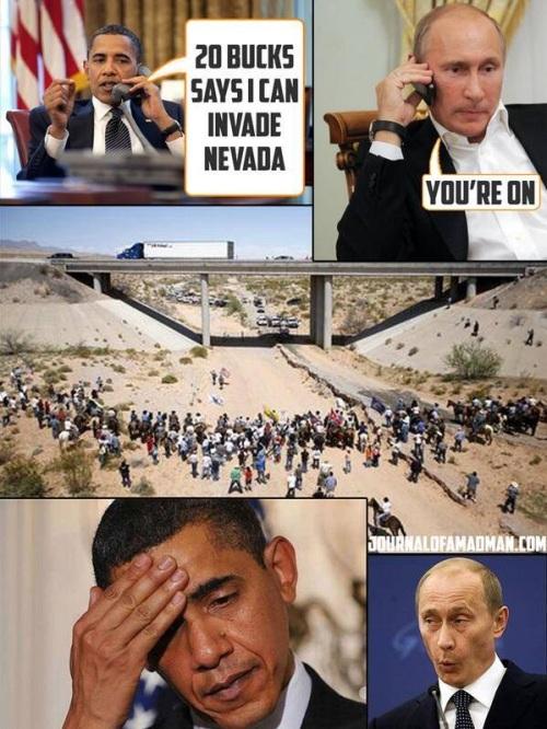 Obama Putin Bundy