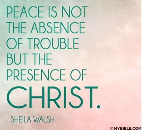 Peace is