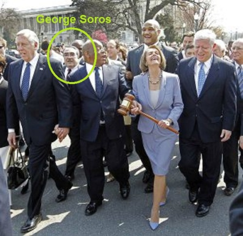 Soros in Obamacare triumphal march
