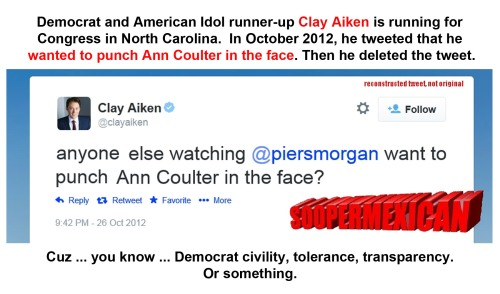 2012_10 26 Clay Aiken - punch Ann Coulter