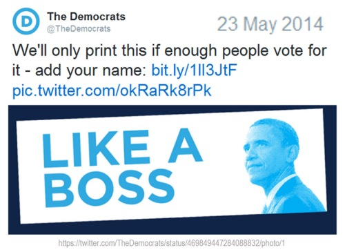 2014_05 23 Obama bs Like a boss