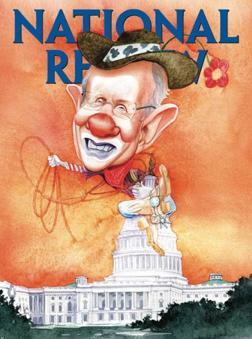 2014_06 National Review cover - Clown Reid