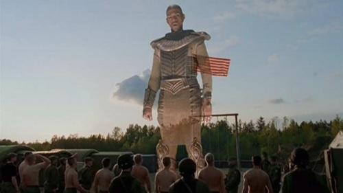 Stargate Apophis giant hologram