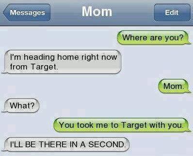 Texting Mom