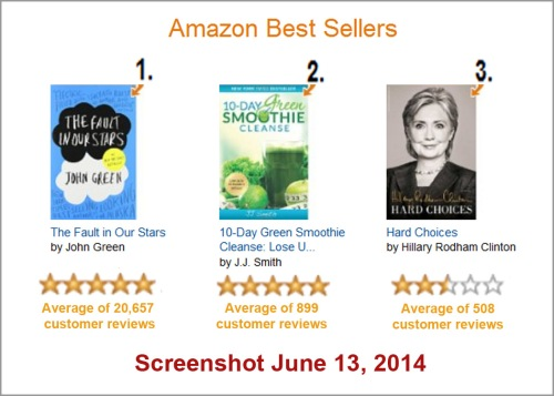 2014_06 13 Amazon best sellers