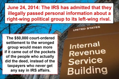2014_06 24 IRS admits wrong doing