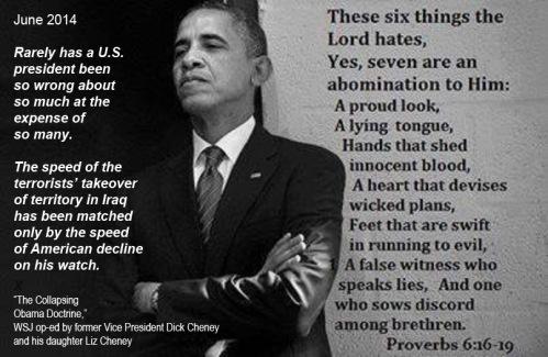 2014_06 Cheney and OBAMA Psalm 6
