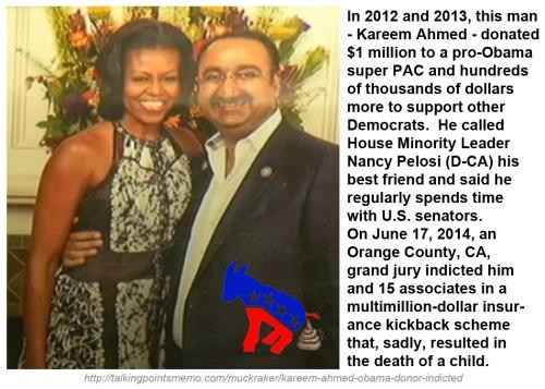 2014_06 Mega Dem donor Kareem Ahmed indicted