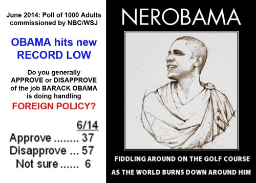 2014_06 Poll Obama handling foreign policy