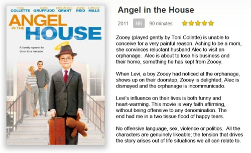 Angel in the House five stars