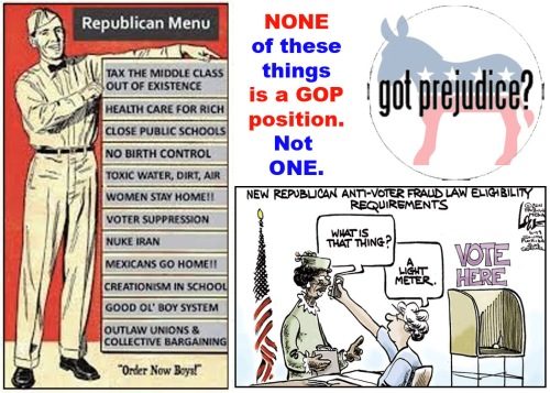 Anti Republican Prejudice
