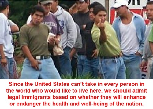 IMMIGRATION Sensible policy