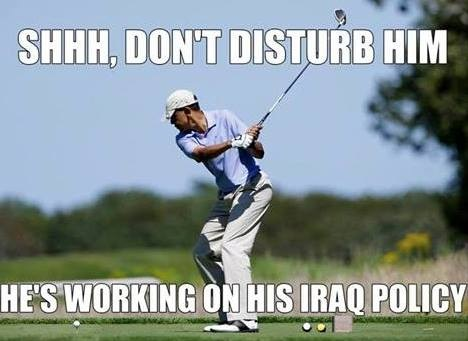 OBAMA Working on his Iraq policy