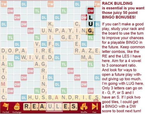 Rack building - SLUG