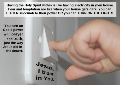 Turn on God's power within you