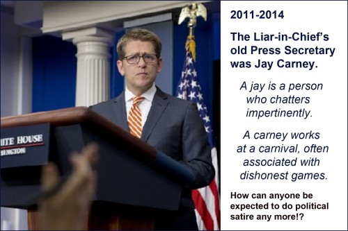 2014_06 Jay Carney BHO's old Press Sec