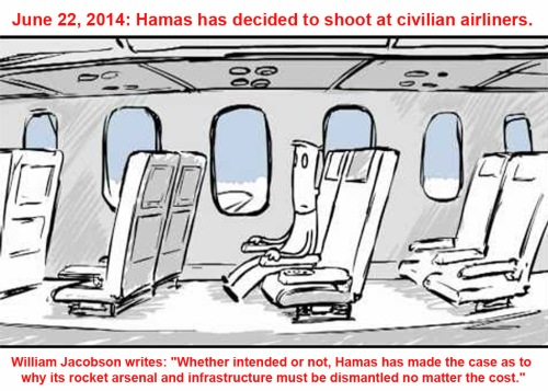 2014_07 22 Hamas shooting at civilian airliners