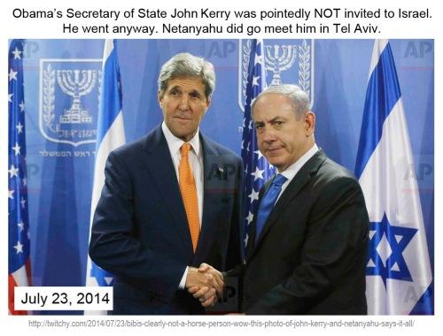 2014_07 23 Kerry and Netanyahu