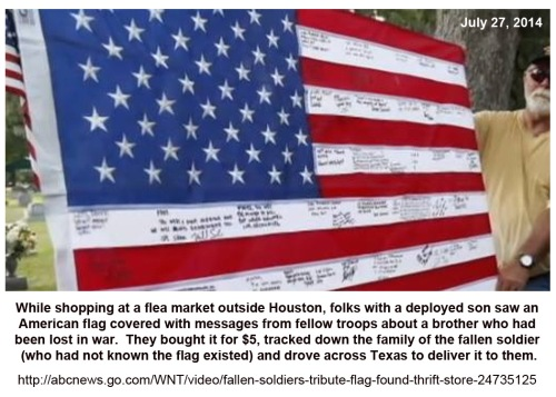 2014_07 27 Flag found and delivered