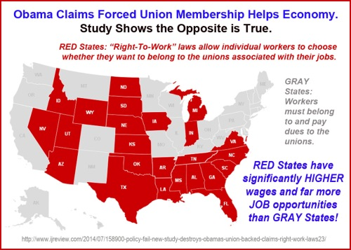 2014_07 Right to Work States have more and better jobs