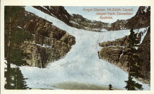 Angel Glacier Jasper Natl Park Canada postcard