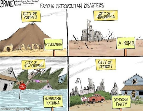 Famous Metropolitcan Disasters