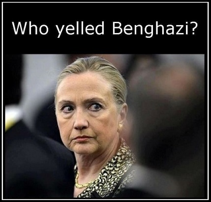 HILLARY Who yelled Benghazi