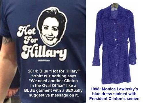 Hot for Hillary tshirt