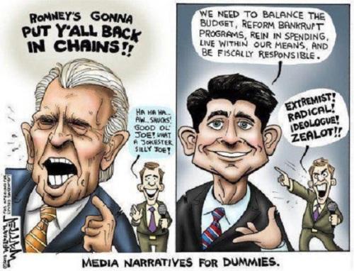 Media Narratives for Dummies