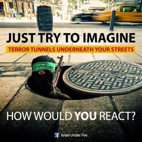 Terror tunnels under YOUR streets