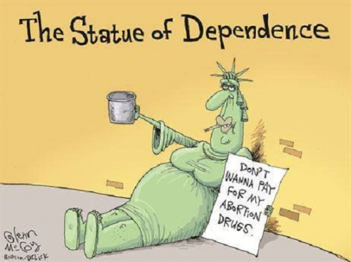 The Statue of Dependence