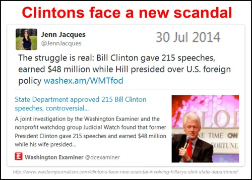 2014_07 30 Clintons face new scandal