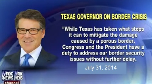 2014_07 31 Gov Perry on border