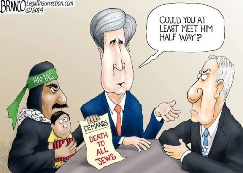 2014_07 Kerry negotiating for Hamas
