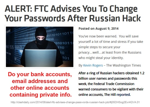 2014_08 09 Change passwords - Russian hack