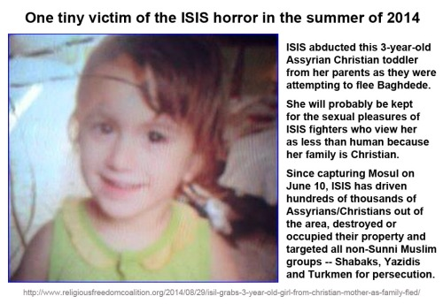2014_08 29 3 yo ISIS victim