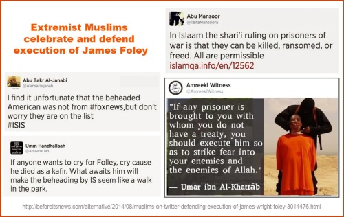 2014_08 Muslims celebrate Foley's execution