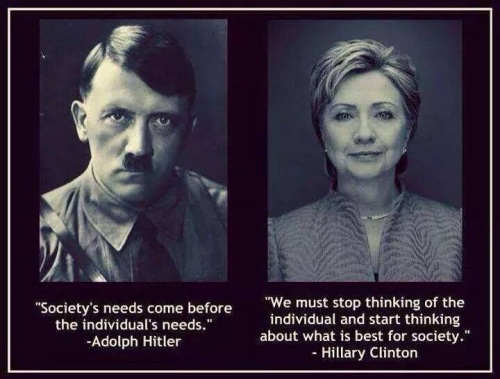Adolph and Hillary