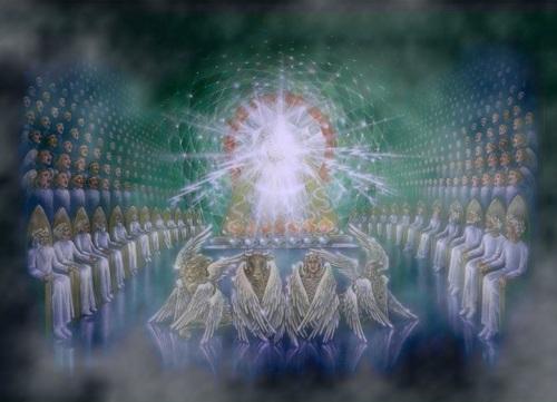 God's throne room - Revelation