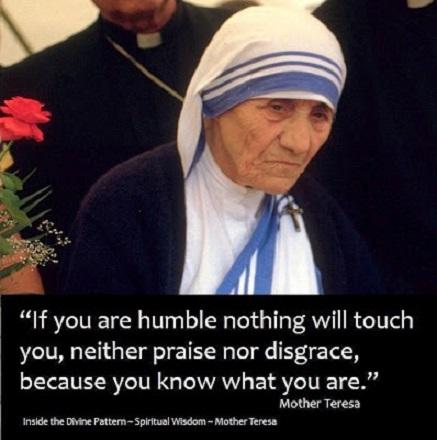 Humility - Mother Teresa