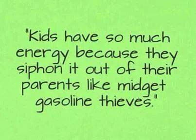 KIDS energy from parents
