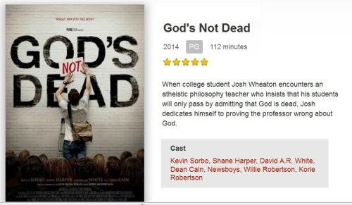 MOVIE God's Not Dead