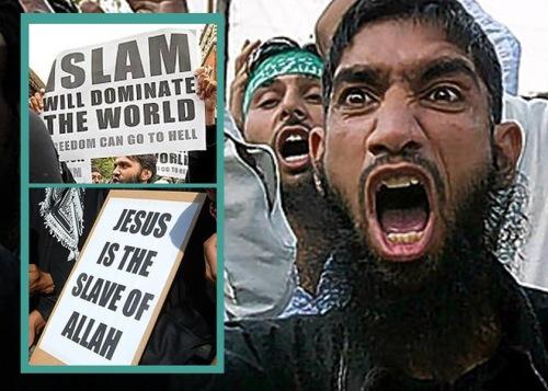 Muslim anti-Christian