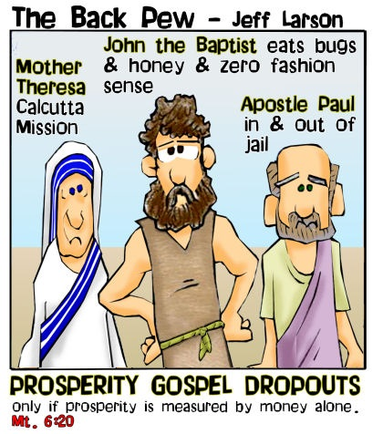 Prosperity Gospel dropouts