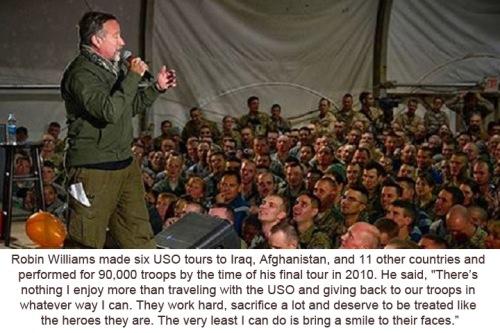 Robin Williams USO